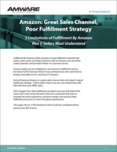 If Fulfillmeent by Amazon Right for Your Business? ebook
