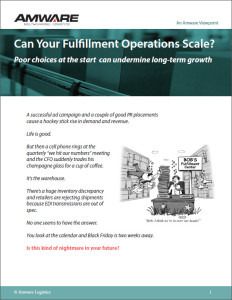 Can Your Fulfillment Operations Scale? eBook (cover)