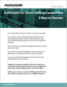 Five Keys to Direct Sales Fulfillment Success