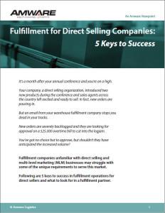 Five Keys to Direct Sales Fulfillment Success