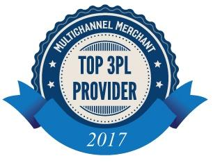 Multichannel Merchant Top 3PL Provider 2017