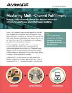 Mastering Multi-Channel Fulfillment eBook (cover)