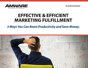 Effective and Efficient Marketing Fulfillment