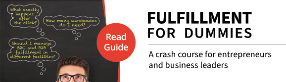 FULFILLMENT FOR DUMMIES    A crash course for entrepreneurs and business leaders on the pitfalls and  opportunities within warehouse fulfillment operations Download our eBrochure