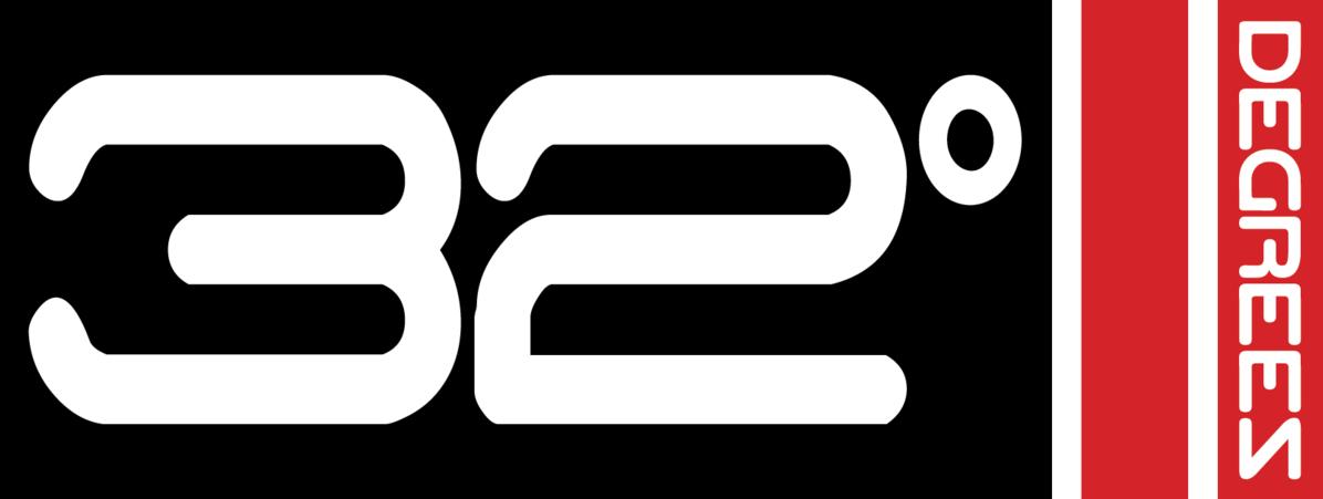 32 degrees logo