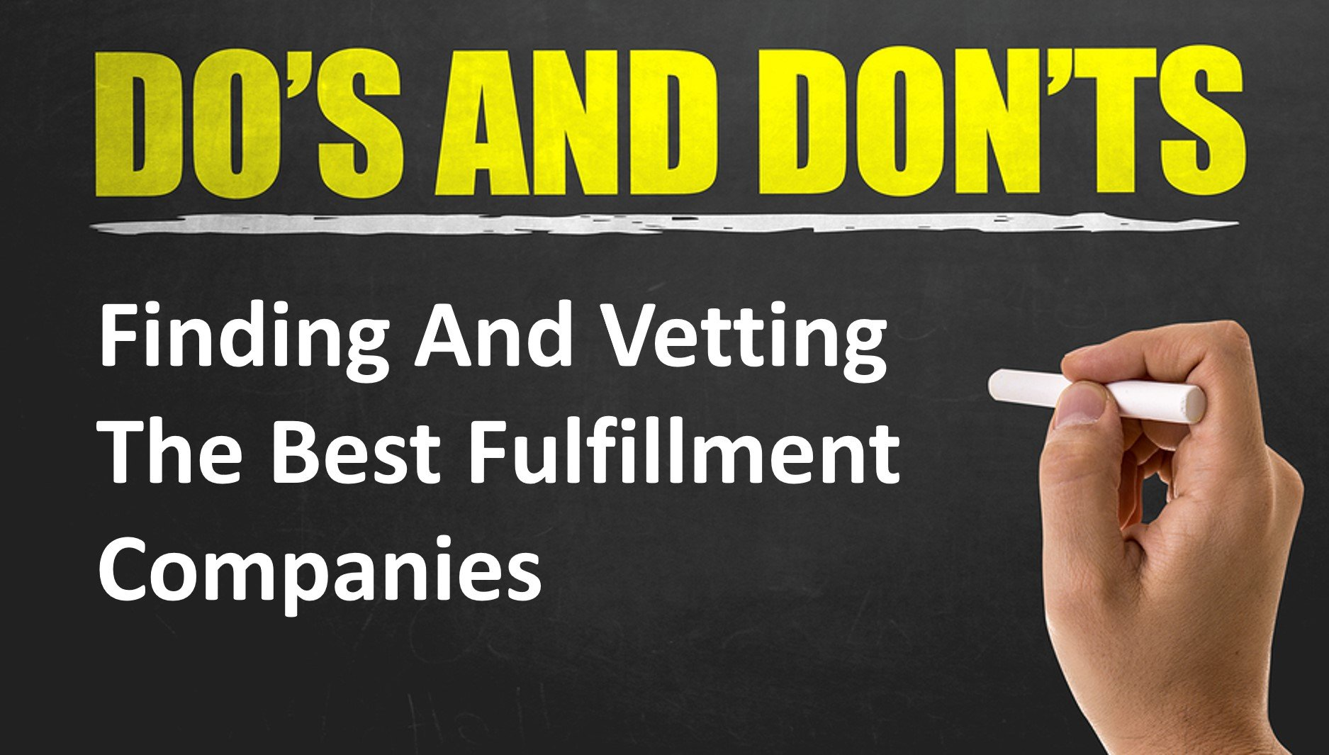 best fulfillment company