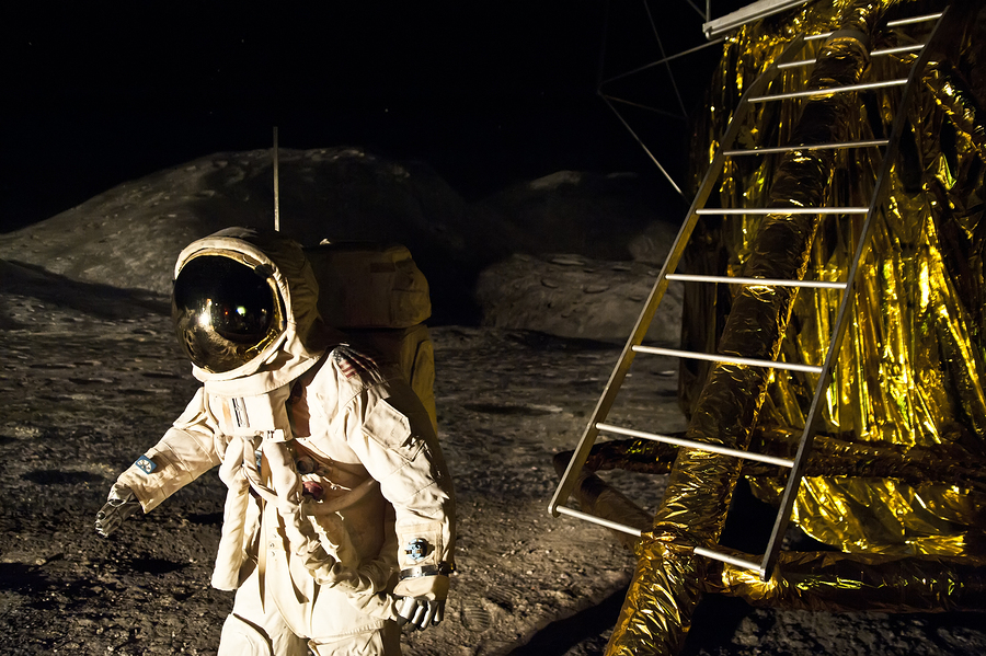 moon landing-bigstock-Landing-On-Moon-8040719